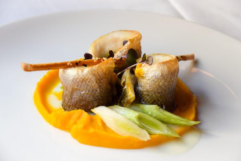 Sea bass & carrots