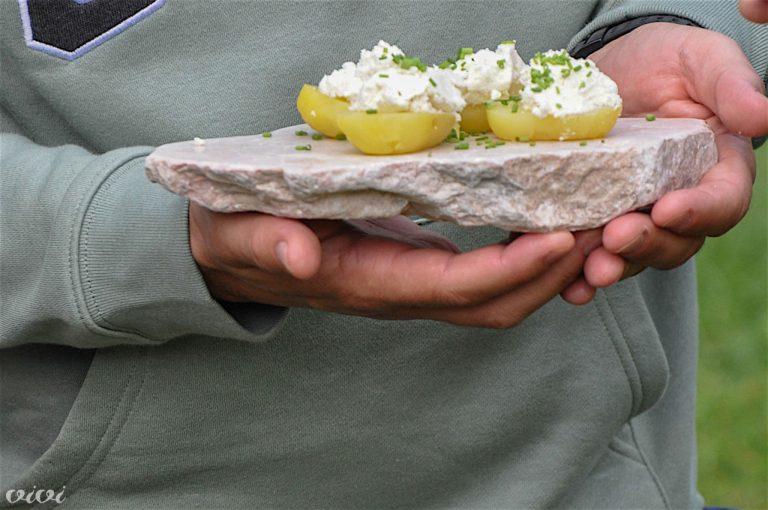 Potato & curd