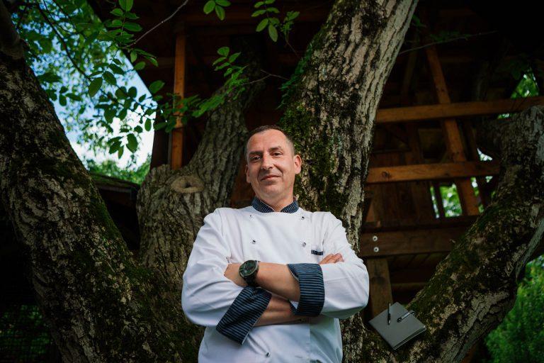 chef Roberto Gregorčič